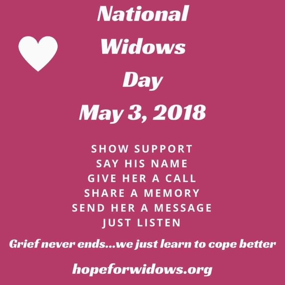 national widows day